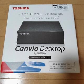 東芝 - 東芝 外付けHDD ハードディスク 6TB Canvio Desktop