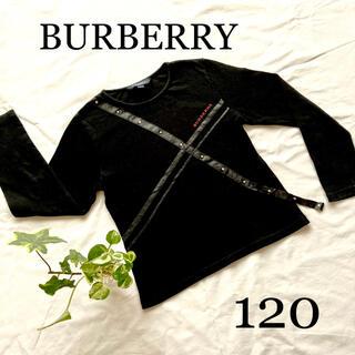 BURBERRY - バーバリー 長袖 Tシャツ トップス カットソー 黒