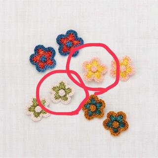 キャラメルベビー&チャイルド(Caramel baby&child )のmisha&puff ミシャアンドパフ Medium Flower Clip(その他)