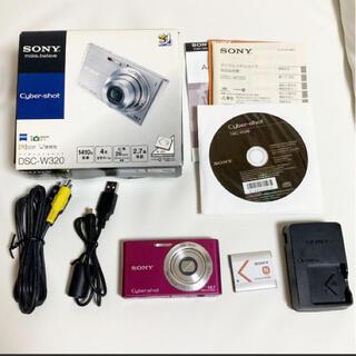 SONY - SONY Cyber−Shot W DSC-W320(P)