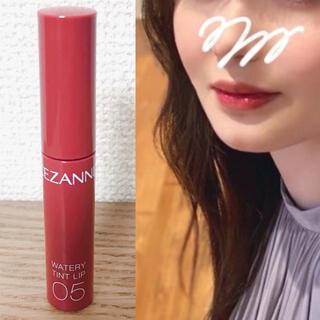 CEZANNE(セザンヌ化粧品) - セザンヌ ウォータリーティントリップ 05 プラムレッド