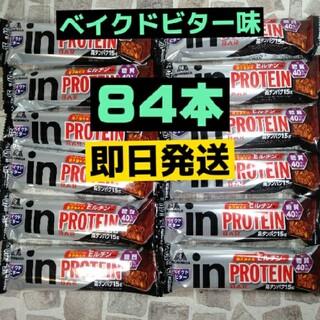 森永製菓 - in protein プロテインバー ベイクドビター 84本 高タンパク15g