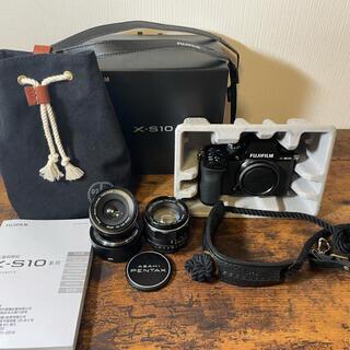 富士フイルム - 富士フイルム x-s10 本体 レンズ2本 カメラストラップ等 値下げ可能