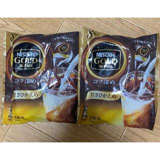 Nestle - ネスカフェ ゴールドブレンド ポーション 甘さひかえめ 2袋