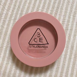 スリーシーイー(3ce)の3ce face blush mono pink スリーコンセプトアイズ(チーク)