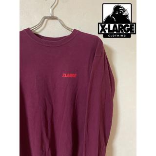 XLARGE - 【XLARGE】ロンT 胸ロゴ バッグロゴ ゆるだぼ