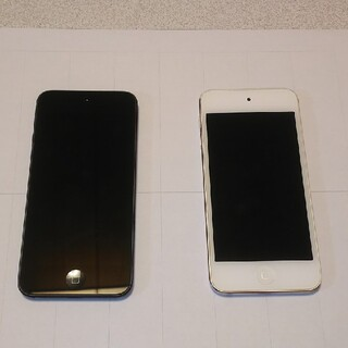 アイポッドタッチ(iPod touch)のジャンク 部品取り用 ipod touch 第5世代 2台(ポータブルプレーヤー)