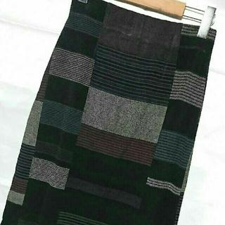 美品 和柄 スカート ロング ストレッチ (ロングスカート)
