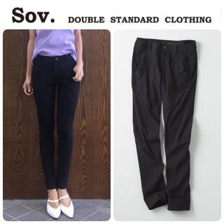 ダブルスタンダードクロージング(DOUBLE STANDARD CLOTHING)の新品 ダブルスタンダード 定番 メリルハイテンションパンツ 38 定価28600(その他)