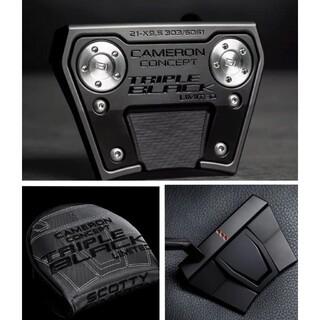 Scotty Cameron - PHANTOM X 9.5 TRIPLE BLACK LIMITED 34インチ
