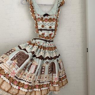 Angelic Pretty - アンジェリックプリティ sweet cream house エプロン スカート