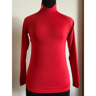 UNDER ARMOUR - アンアンダーアーマー 野球ソフトボールアンダーシャツ ハイネック赤S 長袖