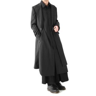 ヨウジヤマモト(Yohji Yamamoto)のGround Y Tab Coat Double Serge サイズ1(チェスターコート)