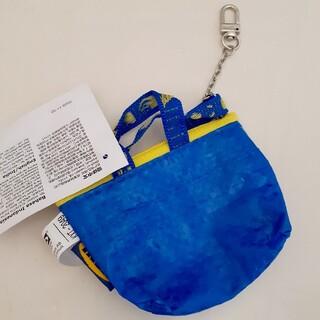 IKEA - IKEA   ブルー ミニバッグ♪イケア クノーリグ   新品未使用  青色1個