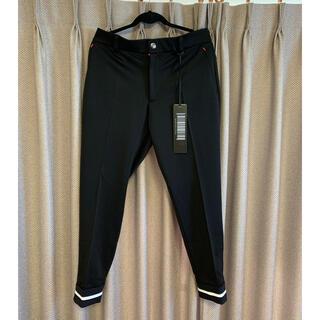 マークアンドロナ(MARK&LONA)のマークアンドロナ メンズパンツ  size50  ブラック 新品です。(ウエア)