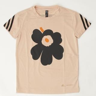マリメッコ(marimekko)の新品! アディダス マリメッコ ウニッコ コラボTシャツ 130 tシャツ(Tシャツ/カットソー)