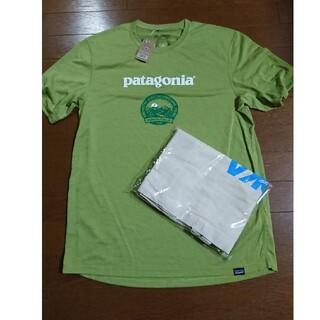 patagonia - 2021信越五岳トレイル/参加記念パタゴニアTシャツ(M)&HOKAトート