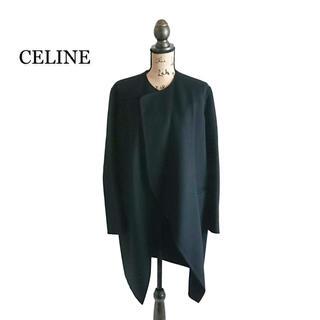 セリーヌ(celine)の高級 CELINE セリーヌ コート ブラック フィービー レディース(ロングコート)