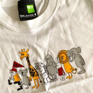 ビームス(BEAMS)の【新品未使用】beams×東山動物園 kidsTシャツ(Tシャツ/カットソー)