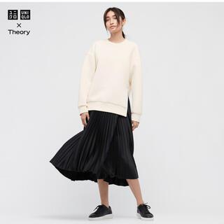 UNIQLO - UNIQLO×Theory プリーツラップスカート
