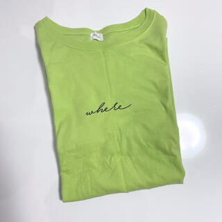 ウィゴー(WEGO)のWEGO ロンT 蛍光色(Tシャツ(長袖/七分))