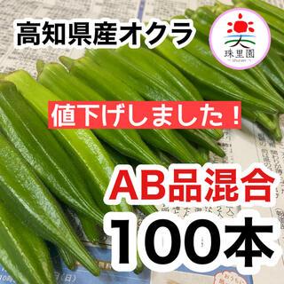 高知県産 オクラ おくら 100本 即購入OK 産地直送 鮮度抜群 夏野菜(野菜)