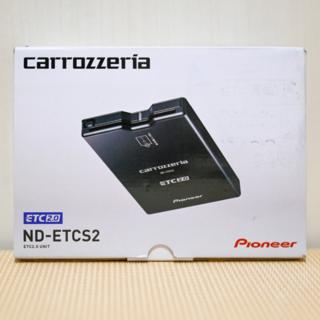 パイオニア(Pioneer)の【美品】carrozzeria ETC2.0 車載器 ナビ連動 ND-ETCS2(ETC)
