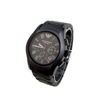 【未使用】EMPORIO ARMANI AR1457 クロノ デイト 腕時計(腕時計(アナログ))