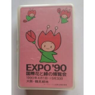 未開封:国際花と緑の博覧会 1990年 EXPO'90 花ずきんちゃんトランプ
