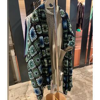 ビューティアンドユースユナイテッドアローズ(BEAUTY&YOUTH UNITED ARROWS)の6 story mfg crochet knit scarf ストール マフラー(マフラー)