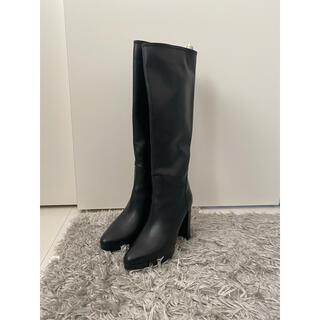 VALENTINO - VALENTINO ロングブーツ 黒色