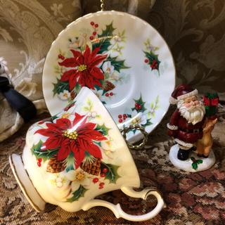 ロイヤルアルバート(ROYAL ALBERT)の英国製 ROYAL ALBERT 【Poinsettia】ポインセチア(食器)