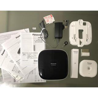 パナソニック(Panasonic)のPanasonic ホームユニット、開閉センサー、人感センサーセット(防犯カメラ)