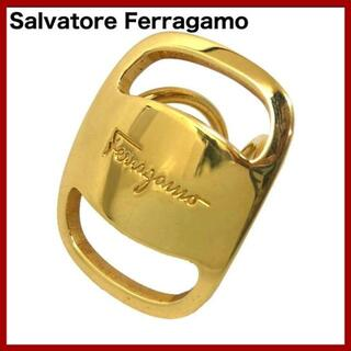 Salvatore Ferragamo - SalvatoreFerragamo フェラガモ スカーフリング ヴァラゴールド