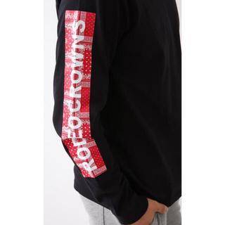 ロデオクラウンズワイドボウル(RODEO CROWNS WIDE BOWL)の新品ペイズリーTシャツ(シャツ)