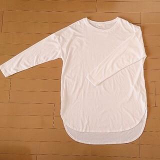 アースミュージックアンドエコロジー(earth music & ecology)の未使用 earth music&ecology オーバーサイズTシャツ(Tシャツ(長袖/七分))