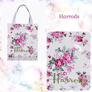 Harrods - ハロッズ✿Harrods✿大人気✿鞄✿トートバッグ✿ミニバッグ✿フラワーA✿新品