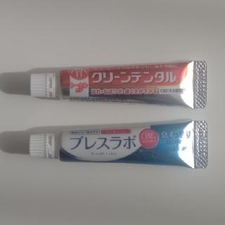 第一三共ヘルスケア - 【第一三共 】薬用歯磨き粉  ブレスラボ&クリーンデンタル2点セット