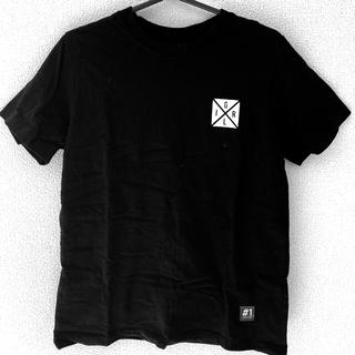 エックスガール(X-girl)のX-girl ブラック Tシャツ サイズ2(Tシャツ(半袖/袖なし))