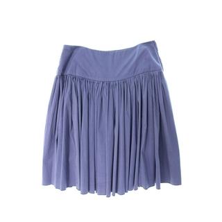 プラダ(PRADA)のプラダ プリーツデザインスカート(ひざ丈スカート)