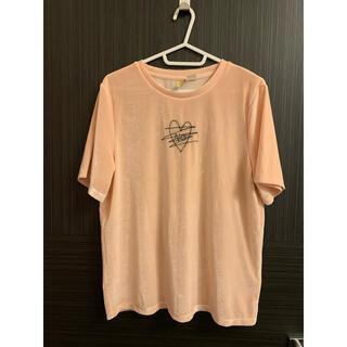 エイチアンドエム(H&M)のH&M ベロアTシャツ(Tシャツ(半袖/袖なし))