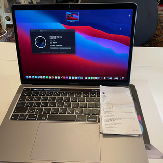Mac (Apple) - 7%クーポン【極美品】MacBook Pro 13インチM1/8GB/512GB