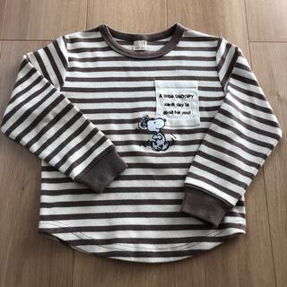 プティマイン(petit main)のプチマイン・スヌーピースウェット(Tシャツ/カットソー)