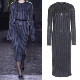 VALENTINO - NINA RICCI Collection Knit Dress モヘア ニット