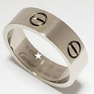 Cartier - 仕上済☆カルティエ☆ラブリング☆指輪☆K18WG☆750☆58号☆