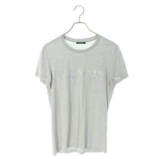 バルマン(BALMAIN)のバルマン RH116011056 フロントロゴプリントTシャツ XS(Tシャツ/カットソー(半袖/袖なし))