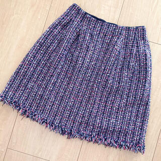 トッカ(TOCCA)のトッカ ツイードスカート(ひざ丈スカート)
