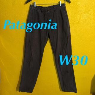 パタゴニア(patagonia)のパタゴニア オーガニックコットンパンツ W30 パープルグレー(ワークパンツ/カーゴパンツ)