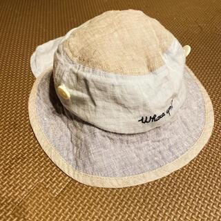 ampersand - アプレレクール ハット 日除け帽子 44cm 水色
