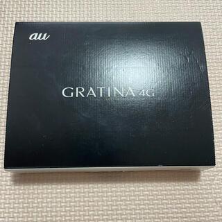 エーユー(au)のGRATINA 4G BLACK KYF31(携帯電話本体)